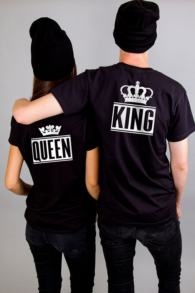 King Queen + Korona páros póló – Yourstore 9c2ad85aed