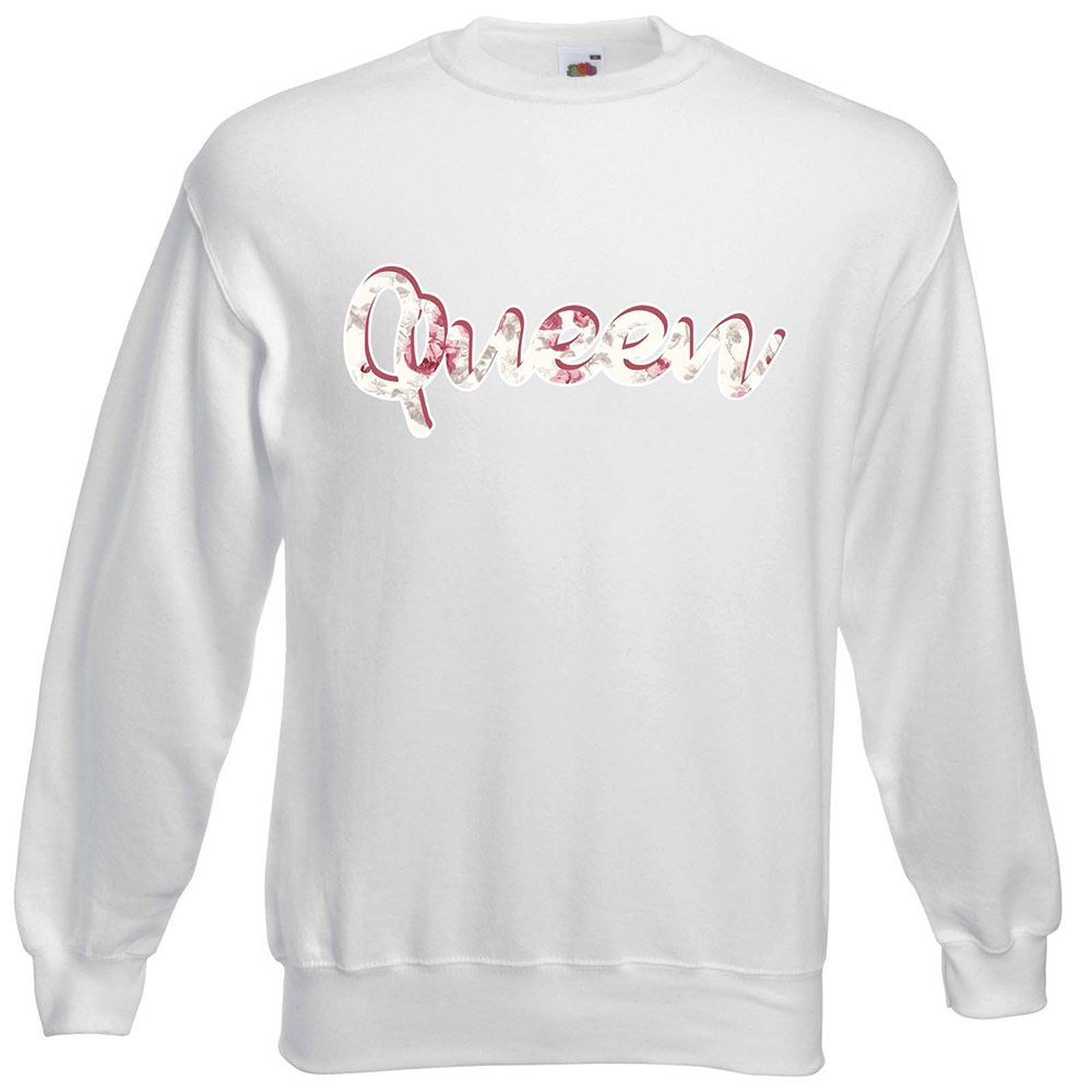 Soldier King Flower Queen Páros Pulóver – Yourstore ba0baa813f